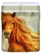 Horse Two Duvet Cover