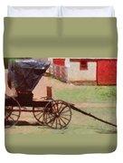 Horseless Carriage Duvet Cover by Jeff Kolker