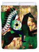 Horseman Duvet Cover