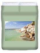 Horseshoe Bay South Australia Duvet Cover