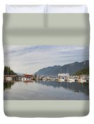 Horseshoe Bay Vancouver Bc Canada Duvet Cover