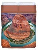 Horseshoe Bend Arizona Duvet Cover
