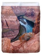 Horseshoe Bend At Dawn Duvet Cover