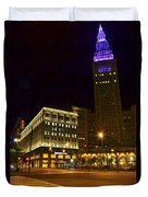 Horseshoe Casino Cleveland Duvet Cover