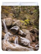 Horsethief Falls - Cripple Creek Colorado Duvet Cover