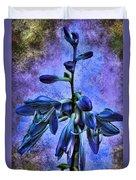 Hosta Blossom Duvet Cover