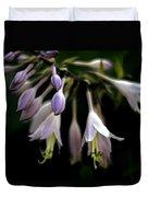 Hosta Petals Duvet Cover