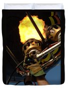 Hot Air Balloon Burner Duvet Cover