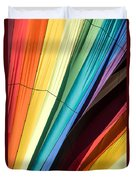 Hot Air Balloon Rainbow Duvet Cover