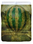 Hot Air Balloon Voyage Duvet Cover