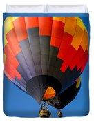 Hot Air Ballooning Duvet Cover by Edward Fielding