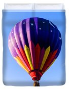 Hot Air Ballooning In Vermont Duvet Cover