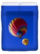 Hot Air Ballooning Together Duvet Cover