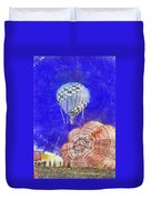 Hot Air Balloons Photo Art 04 Duvet Cover