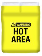 Hot Area Duvet Cover