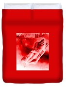 Hot-blooded Hottie On A Sexual Journey Duvet Cover