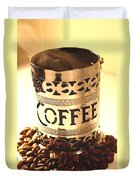 Hot Coffee Duvet Cover