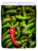 Hot Hot Hot Duvet Cover