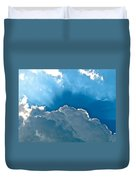 Hot Italian Clouds Duvet Cover