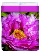 Hot-pink Flower Duvet Cover