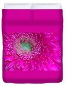 Hot Pink Gerbera Daisy Duvet Cover