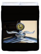 Hot Rod Car Instrument Detail Duvet Cover