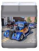 Hot Rod Car Duvet Cover