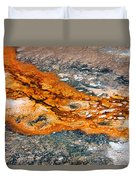 Hot Springs Mineral Flow Duvet Cover