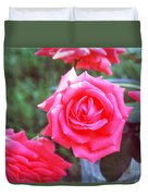Hot Summer Bouquet Duvet Cover