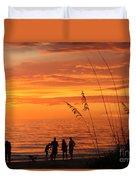 Hot Sunset Duvet Cover