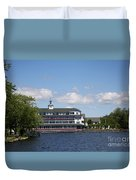 Hotel At Lake Winnipesaukee Duvet Cover