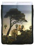 Hotel California- La Jolla Duvet Cover