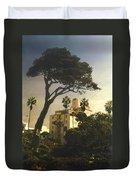 Hotel California- La Jolla Duvet Cover by Steve Karol