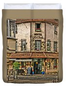 Hotel Central In Beaune France Duvet Cover