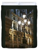 Hotel De Ville In Paris Duvet Cover