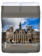 Hotel De Ville The Paris City Hall Duvet Cover