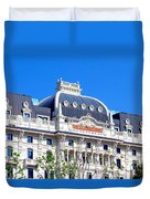 Hotel Gallia Duvet Cover
