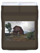 Hotel Meade - Bannack Ghost Town - Montana Duvet Cover