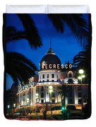 Hotel Negresco Duvet Cover by Inge Johnsson