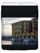 Hotel Sirmione. Lago Di Garda Duvet Cover