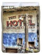 Hotel Yeti Duvet Cover