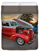 Hotrod Sunset Duvet Cover
