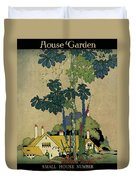 House And Garden Cover Duvet Cover by H. George Brandt