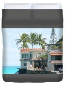 House At Land's End Duvet Cover