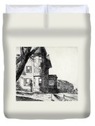 House By A River Duvet Cover