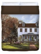 house Du Portail  Duvet Cover