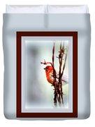 House Finch - Finch 2241-004 Duvet Cover