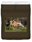 House From The Highest Point Duvet Cover