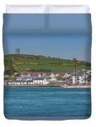 House In A Town, Portaferry Duvet Cover