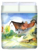 House In Germany Duvet Cover